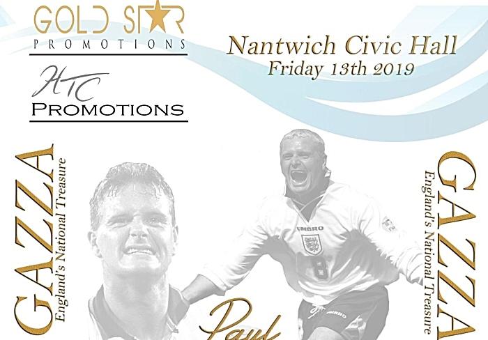 Paul Gascoigne promotions event