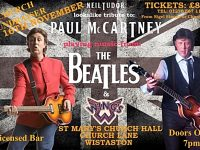 Paul McCartney tribute act to perform in Wistaston