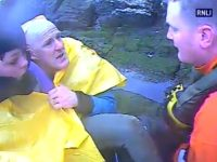 Flashback - Paul and Joe rescued by RNLI