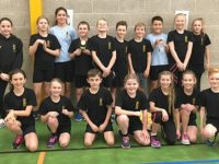 Stapeley school pupils celebrate sporting success hat-trick