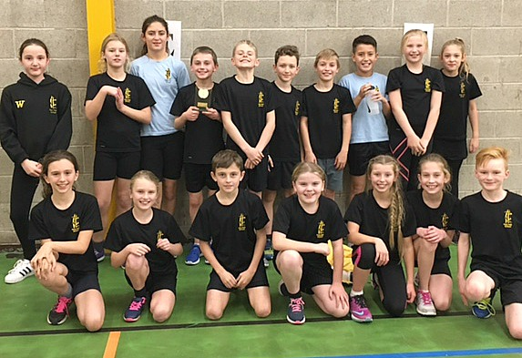 hat-trick - pear-tree-year-5-and-6-heat-winners-in-sportshall-athletics
