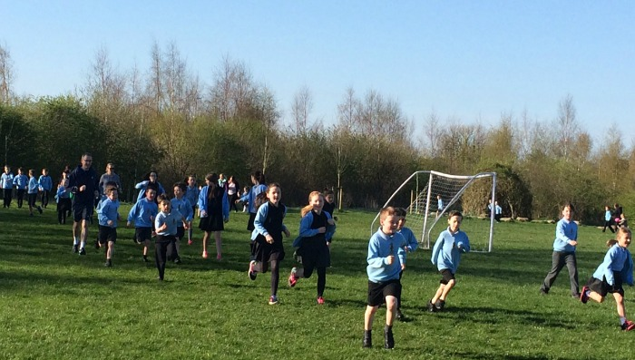 Pear Tree pupils Run to Rio
