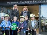 Co-op store donates balance bikes to Stapeley pupils