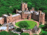 Peckforton Castle, nr Nantwich, highly commended in VisitEngland Awards