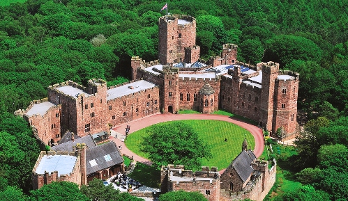 Peckforton Castle hosts fun day for Bunbury playground project