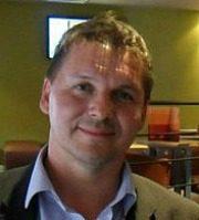Pete Leydon, editor of Nantwichnews