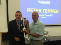 Nantwich Town groundsman Pete Temmen pitches in with top FA award
