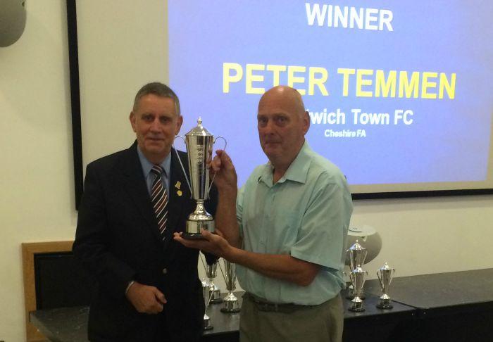 Pete Temmen, Nantwich Town groundsman