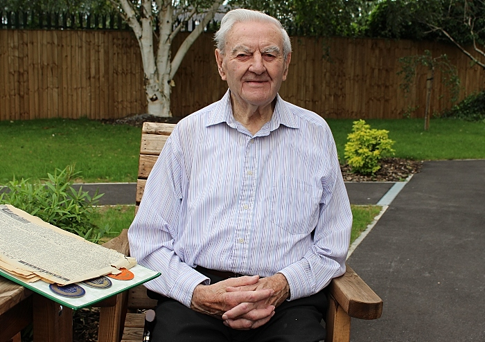 Peter Dainty, aged 92 (1)