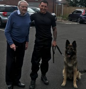 Peter Dainty and PC Alan Friday