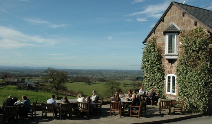 Pheasant Inn in Higher Burwardsley