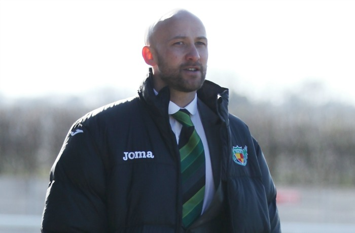 win at Corby - Phil Parkinson, Nantwich Town manager, against Stourbridge