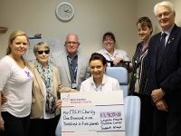 Prostate cancer group raises £2,000 for Mid Cheshire Hospitals Charity