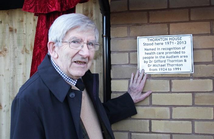 Dr Michael Thornton, Audlem housing