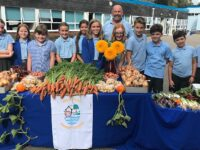 Nantwich primary school's vegetable crop is un-beet-able!