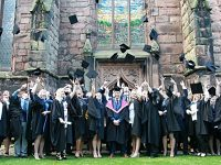 University Centre Reaseheath stages graduation ceremony in Nantwich