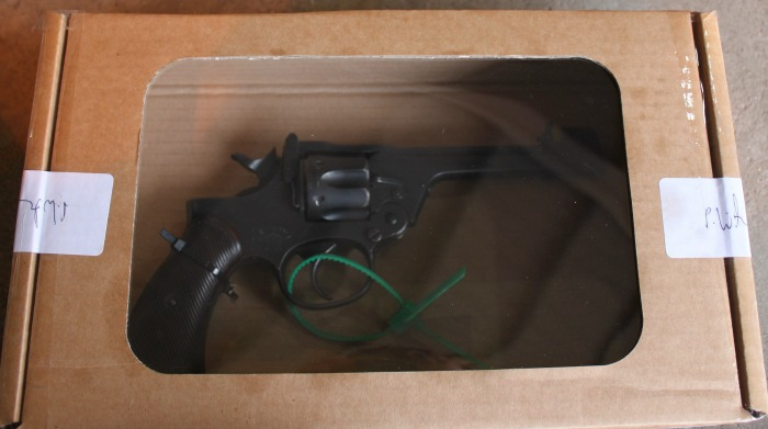 Pistol from Cheshire Police weapons amnesty