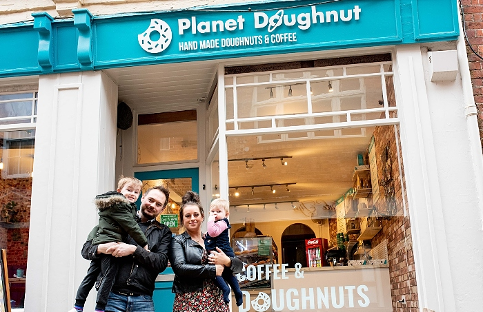 Planet Doughnut owners