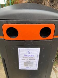 Plastic bottle end collection point in Wistaston (1)