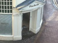 Masked gang raid Pockets store in Nantwich town centre