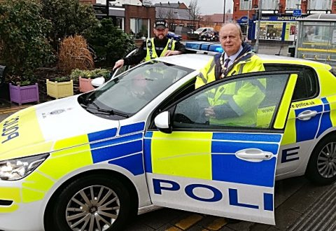 Nantwich Mayor hails police officers' crime prevention strategy