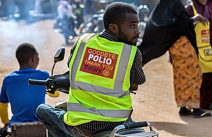 Polio Free Africa - rotary