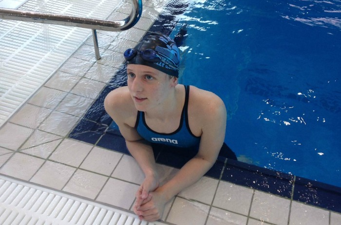 nantwich swimmer smashes records to reach uk top 10. Black Bedroom Furniture Sets. Home Design Ideas