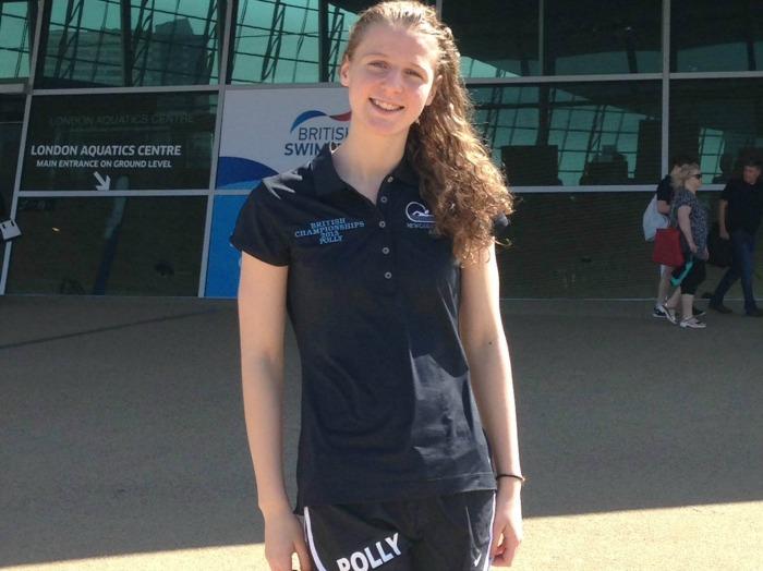 Polly Holden, Nantwich swimmer