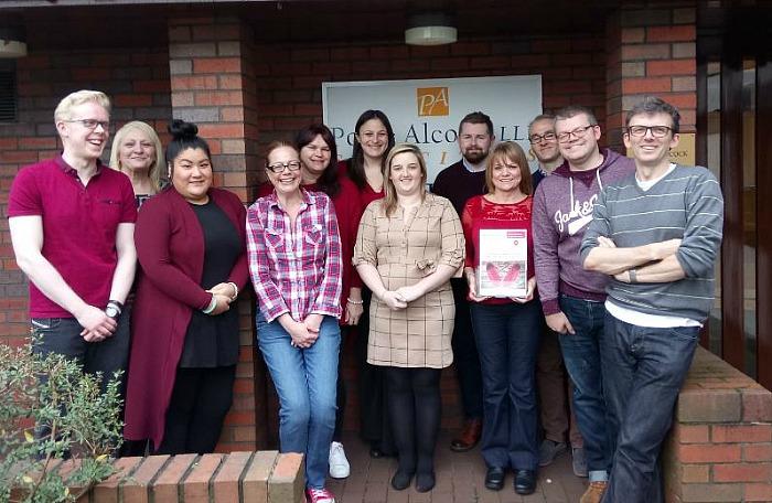 hospice campaign - Poole Alcock go red