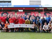 Charity football match raises over £7,000 for cancer treatment charity