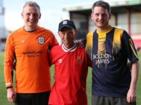 Charity Crewe Alex football match raises thousands for The Christie