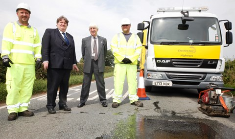 More Government cash earmarked to tackle potholes on Nantwich roads
