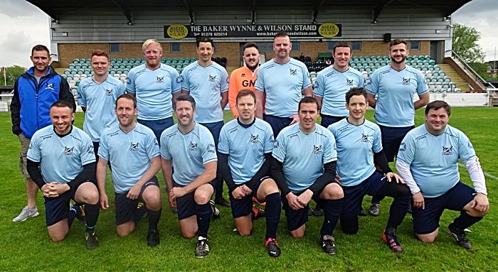 Pre-match - Crewe Corinthians squad (1)