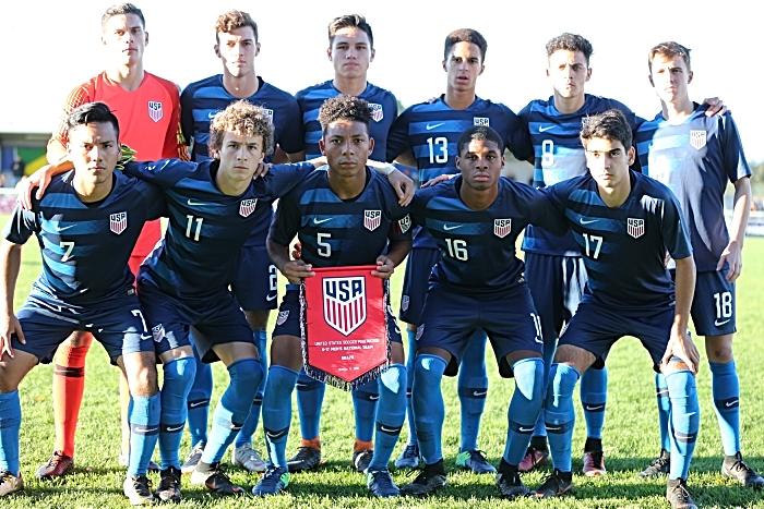 Pre-match - USA team (1)