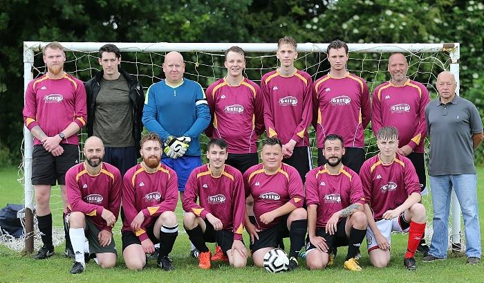 Pre-match - Wybunbury All Stars (1)
