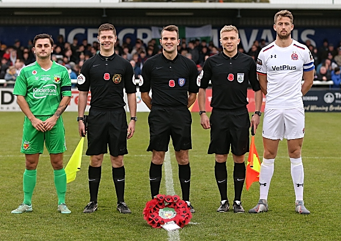 Pre-match - match officals and club captains (1)