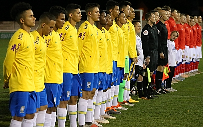 Pre-match - national anthems