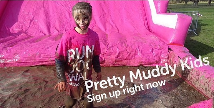 Pretty Muddy kids at Reaseheath