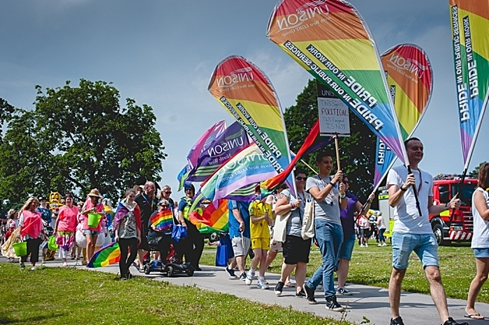 Pride in the Park parade 2019 photo (1)