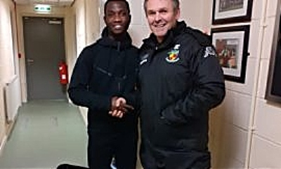 Prince Haywood signs for Nantwich Town