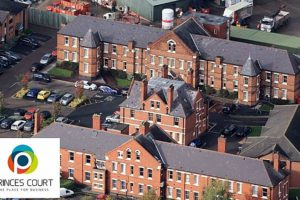 Princes Court business centre in Nantwich up for sale