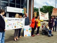 Campaigners step up fight against plans for Nantwich Children's Centre