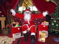 Santa sets up Grotto in Nantwich Bookshop