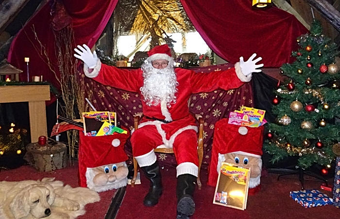 Publicity photo - Rotary Club of Nantwich – Santas Grotto (1)