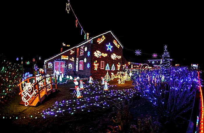Publicity photo - Weston Christmas Light Display 2018 (2) (1)