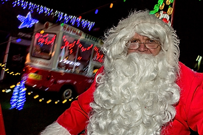Publicity photo - Weston Christmas Light Display 2018 - Santa (1)
