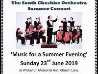 Music for a Summer Evening – Wistaston
