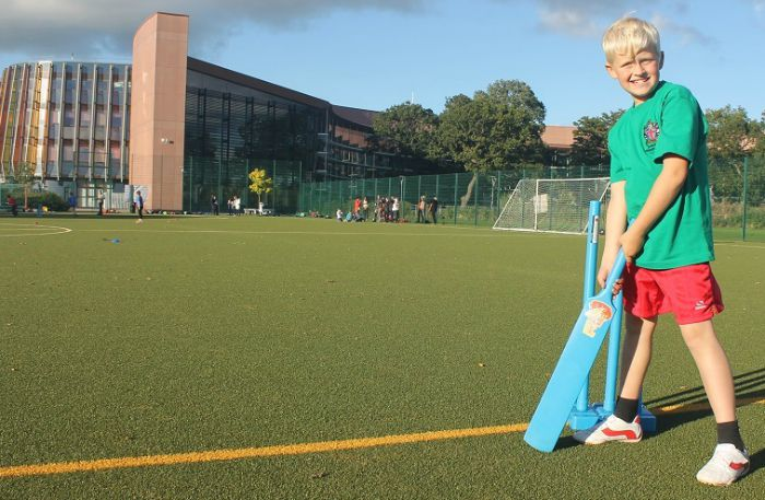Pupils Bowled Over By Diamond Cricket Festival