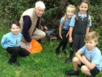 Stapeley pupils build winter homes for hedgehogs