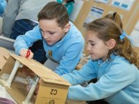 Stapeley pupils and staff enjoy STEAM week activities